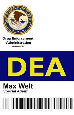 DEA Ausweis Max Webseite