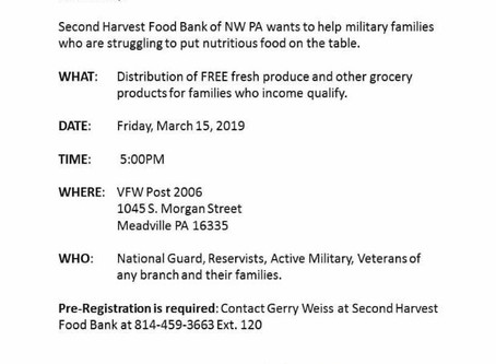 Food for Veterans