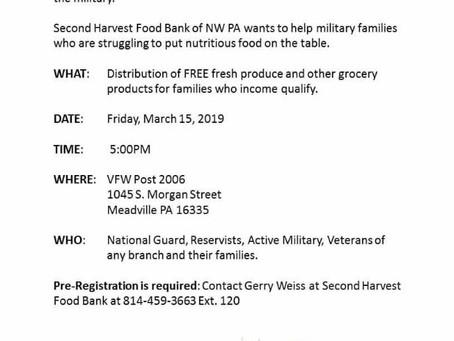 Food for Veterans