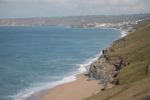 Looking towards Porthleven