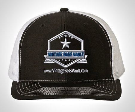 Vintage Bass Vault Trucker Hat