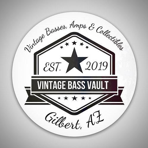 Vintage Bass Vault Magnet