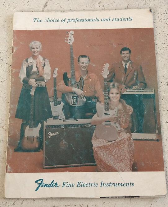 1960 Fender Catalog