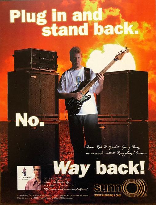 SUNN amps Promo AD w/Ray Riendeau (Rob Halford, GaryHoey)