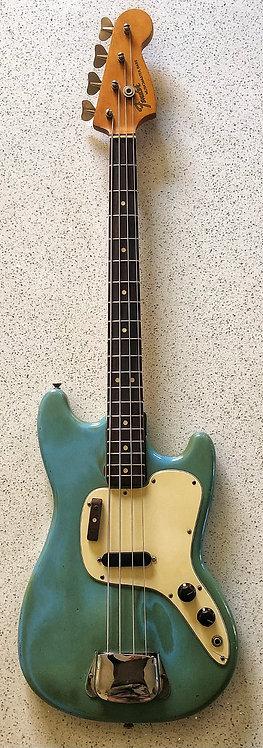 1975 Fender Musicmaster - Rare Daphne Blue