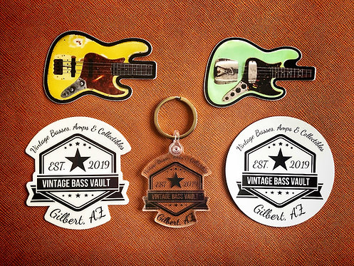 VBV Collector Pack (Stickers/Key Chain/Magnet)