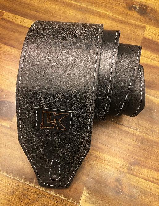 LK Distressed BlackStrap (gold LK)