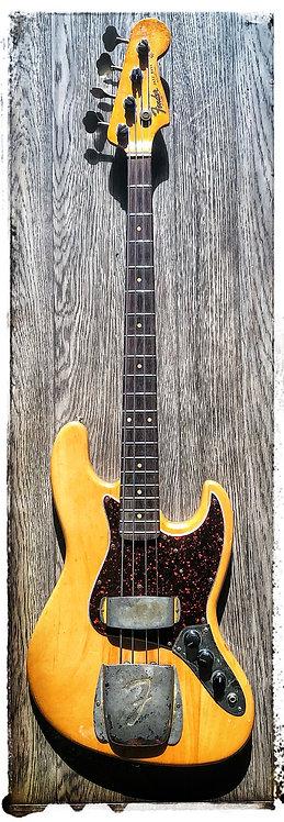 1963 Fender Jazz Bass - Natural