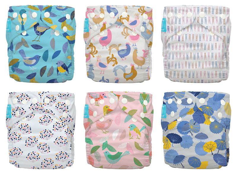 Behrendt Graphic Design diaper design illustration for Charlie Banana