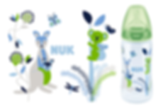 Linn Behrendt illustration designer bottle Flasche NUK-Australia