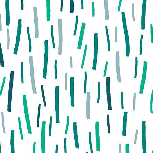 Behrendt Graphic Design pattern fabric design green lines