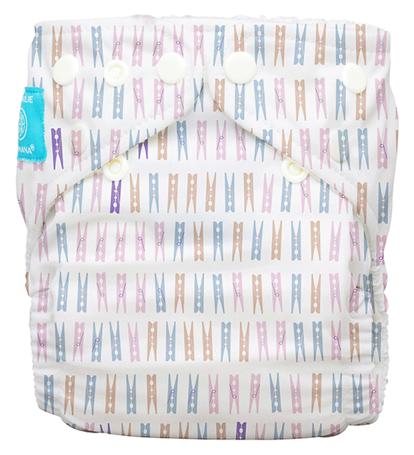 Behrendt Graphic Design diaper design pegs for Charlie Banana