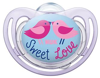 Linn Behrendt designer soother illustration Schnuller for NUK-sweet love-birds-Vögel