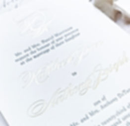 Letterpress and Foil Printing