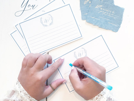 Writing The Perfect Thank You Card For Your Wedding