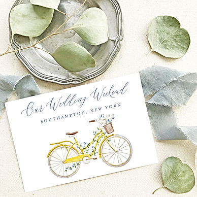 Watercolor Wedding Weekend