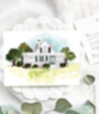 Watercolor Wedding Site