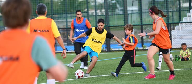 Actividad de futbol