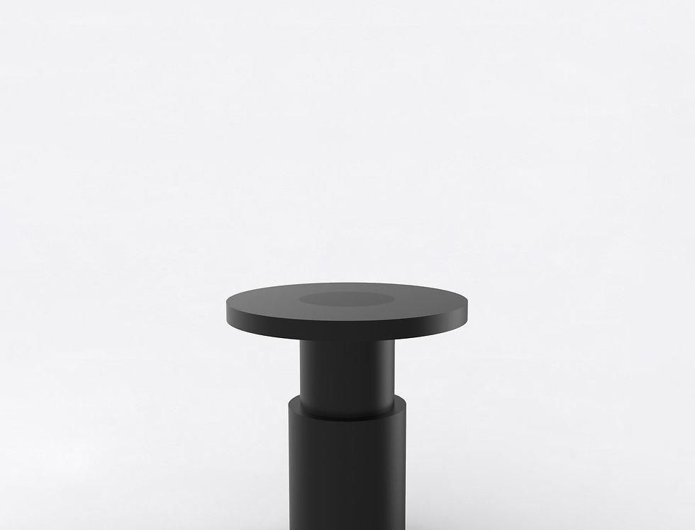 105 End Table BLK