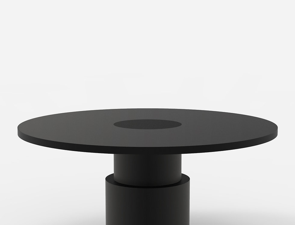 100 Dining Table BLK