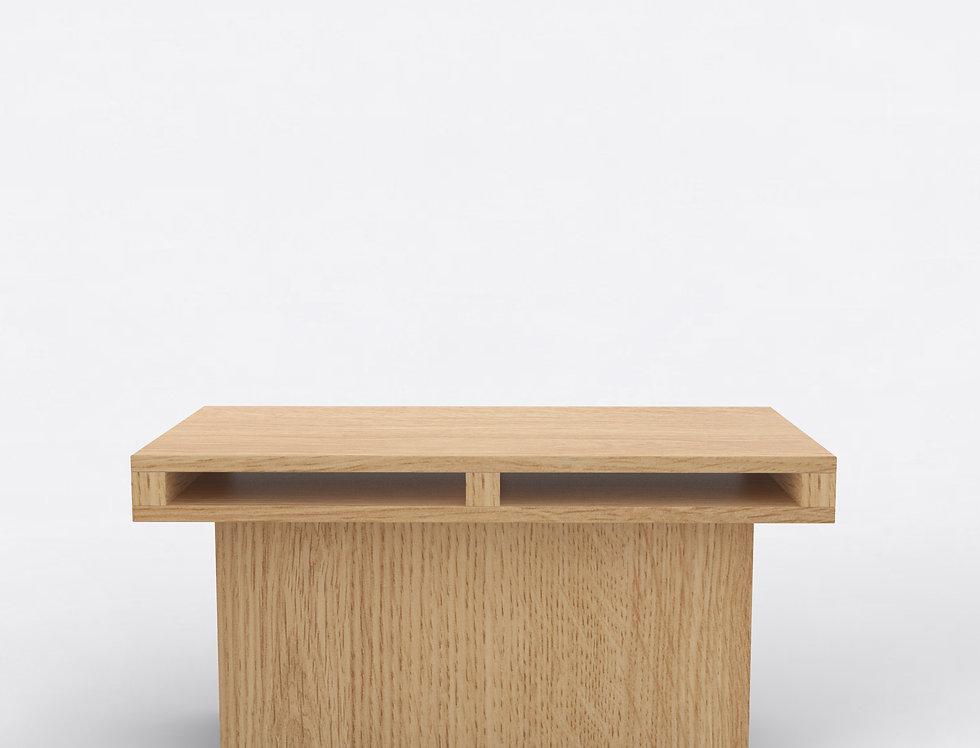 102 End Table Oak