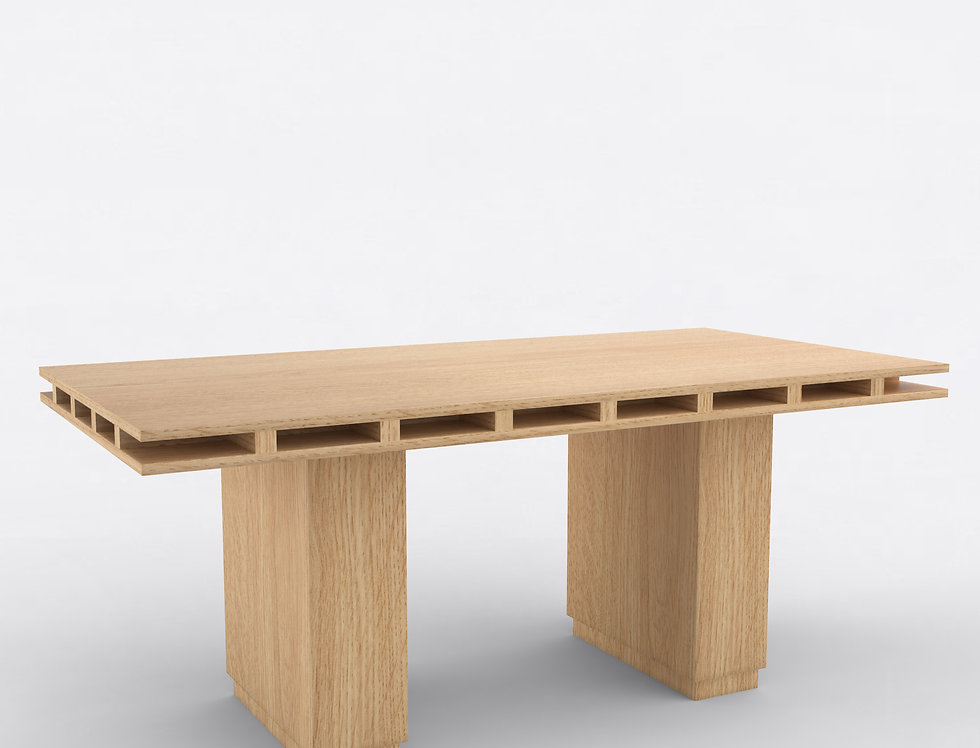 103 Dining Table Oak