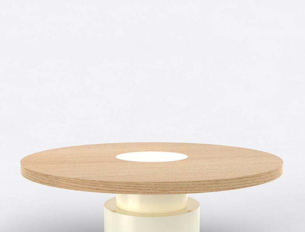 100 Coffee Table TT Oak WHT