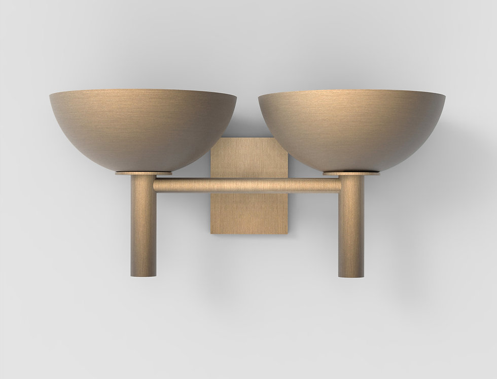 200 Double Sconce BB