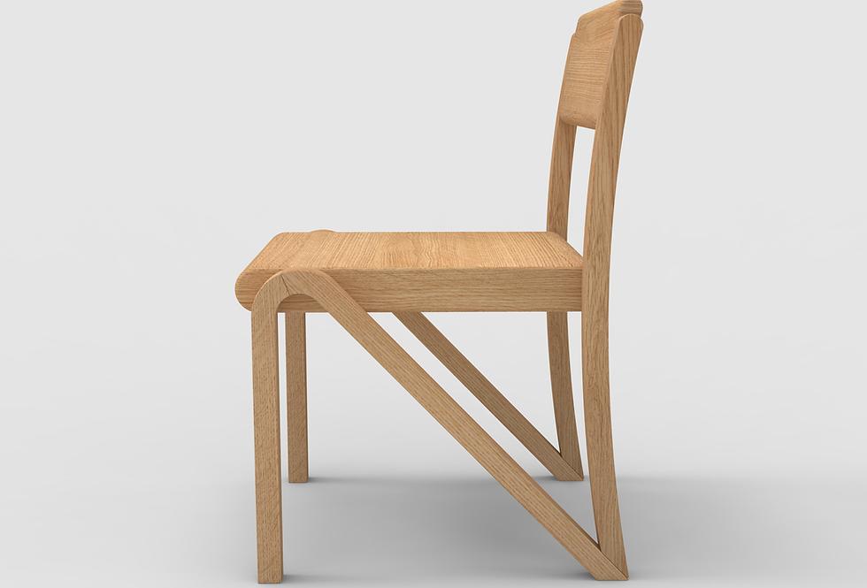 200 Side Chair Oak