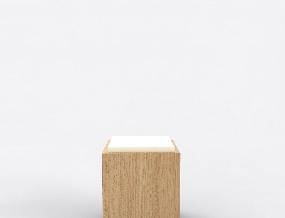 103 Side Table TT Oak WHT