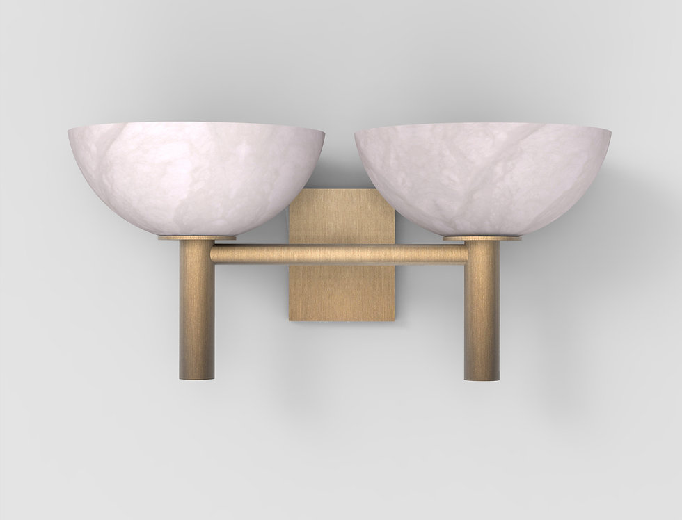 200A Double Sconce BB