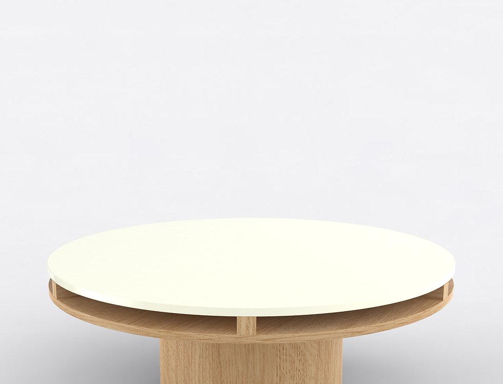 102 Coffee Table TT Oak WHT