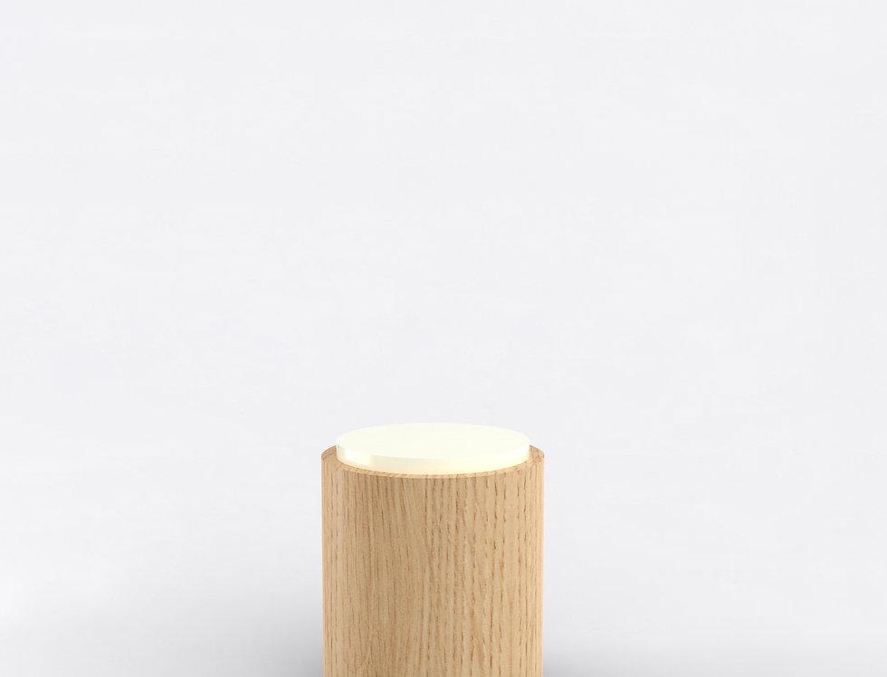 104 Side Table TT Oak WHT