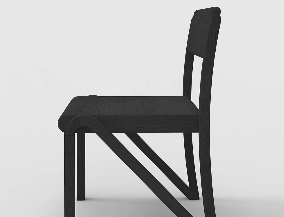 200 Side Chair BLK
