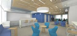 Office Lab Interior Rendering 2