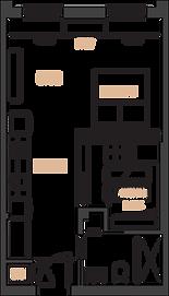 The Bradshaw Lofts micro suite plan