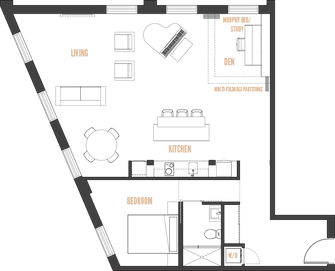 The Bradshaw Lofts macro suite plan