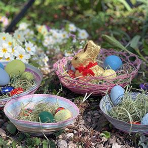 2. DIY Osternest aus der Inspiration von Julie Blume