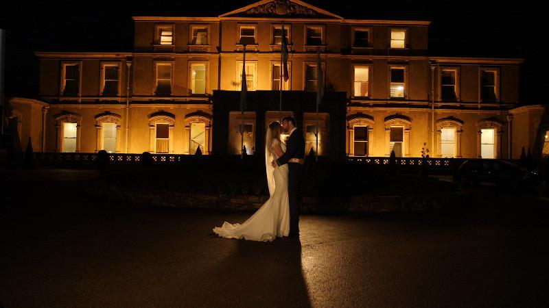 A December Wedding from Faithlegg House