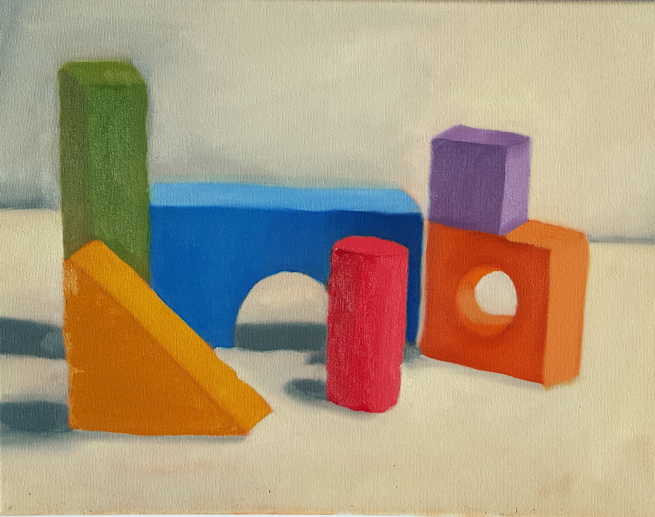 Color Still Life