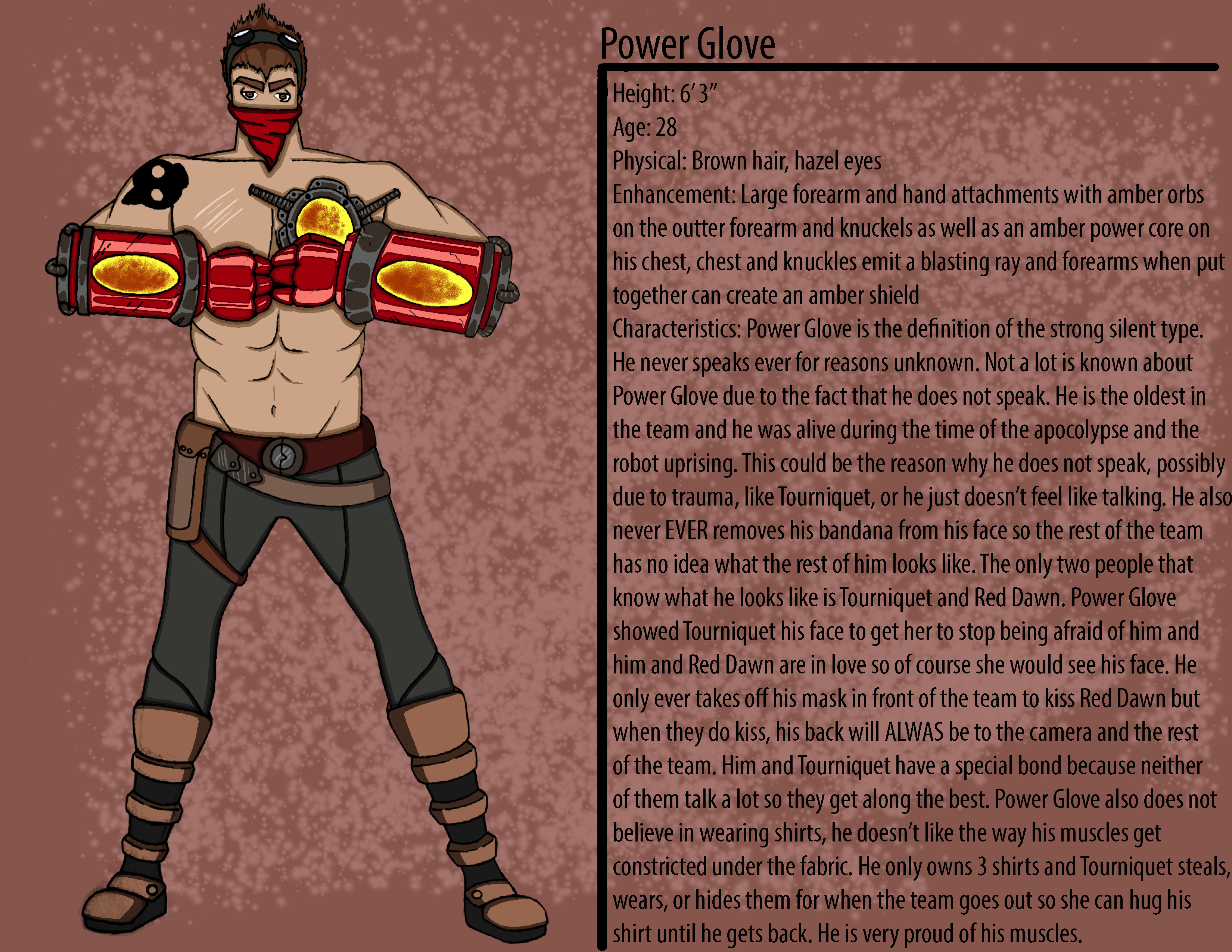 Power Glove Character Description
