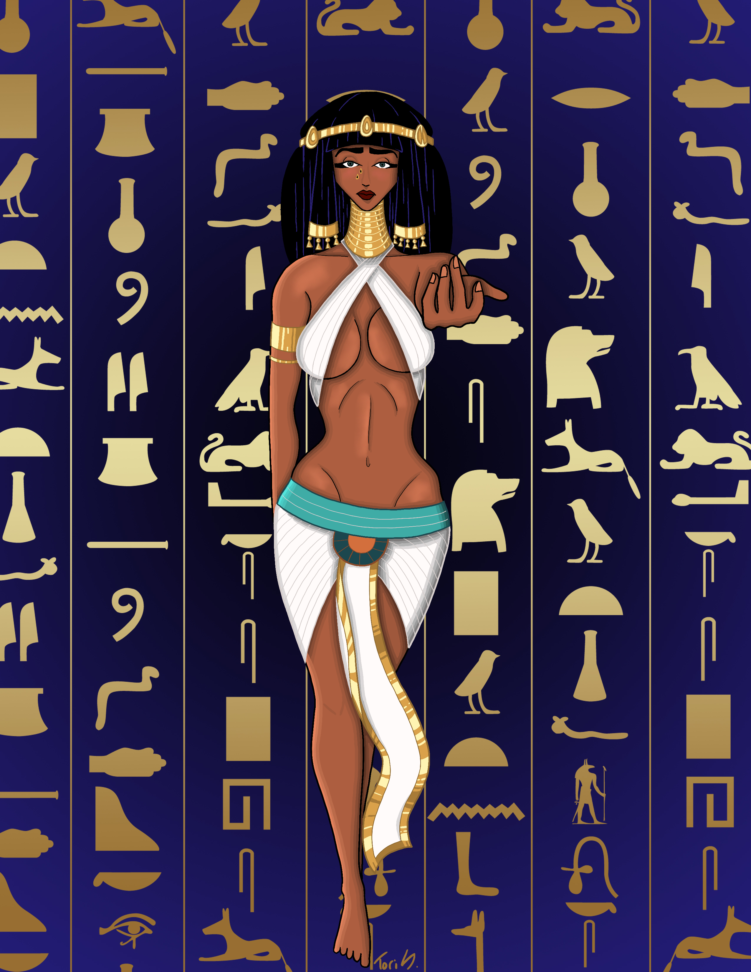 Egyptian Goddess Nephthys