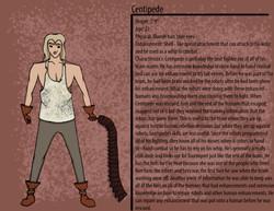 Centipede Character Description