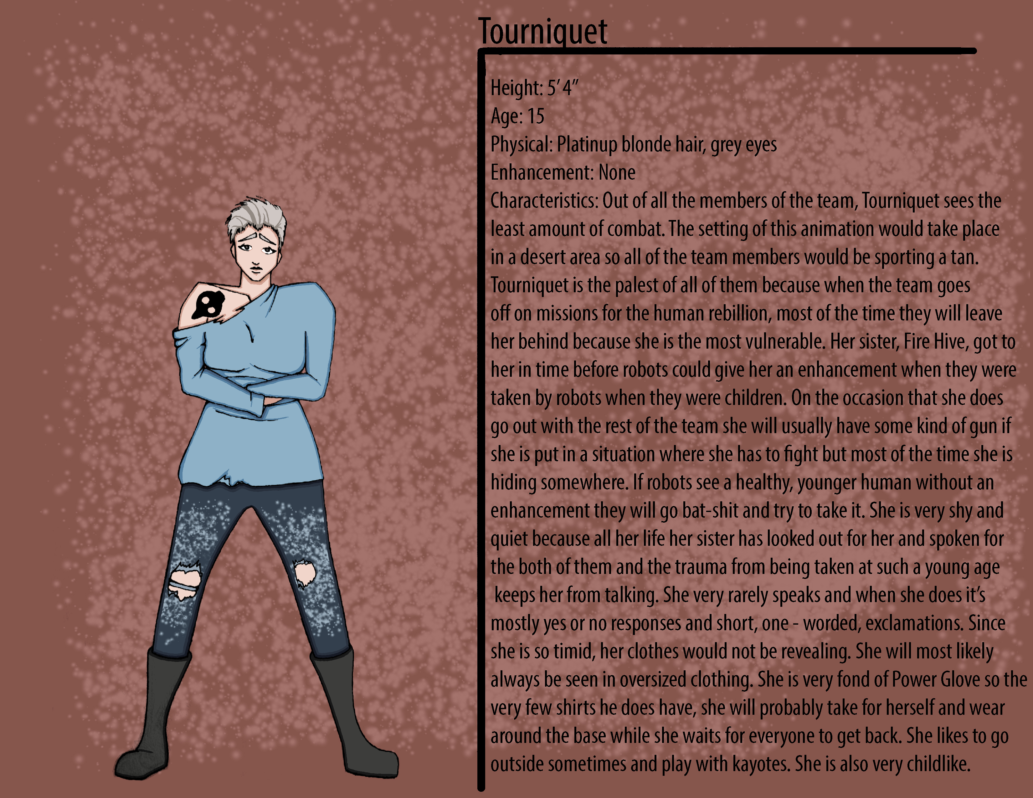 Tourniquet Character Description