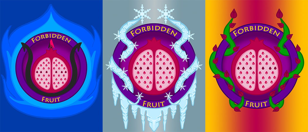 Forbidden Fruit Logo Series