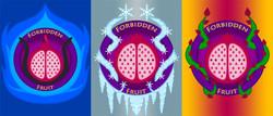 Forbidden Fruit Logo Series