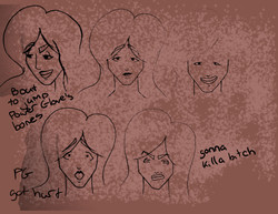 Red Dawn Expression Sheet