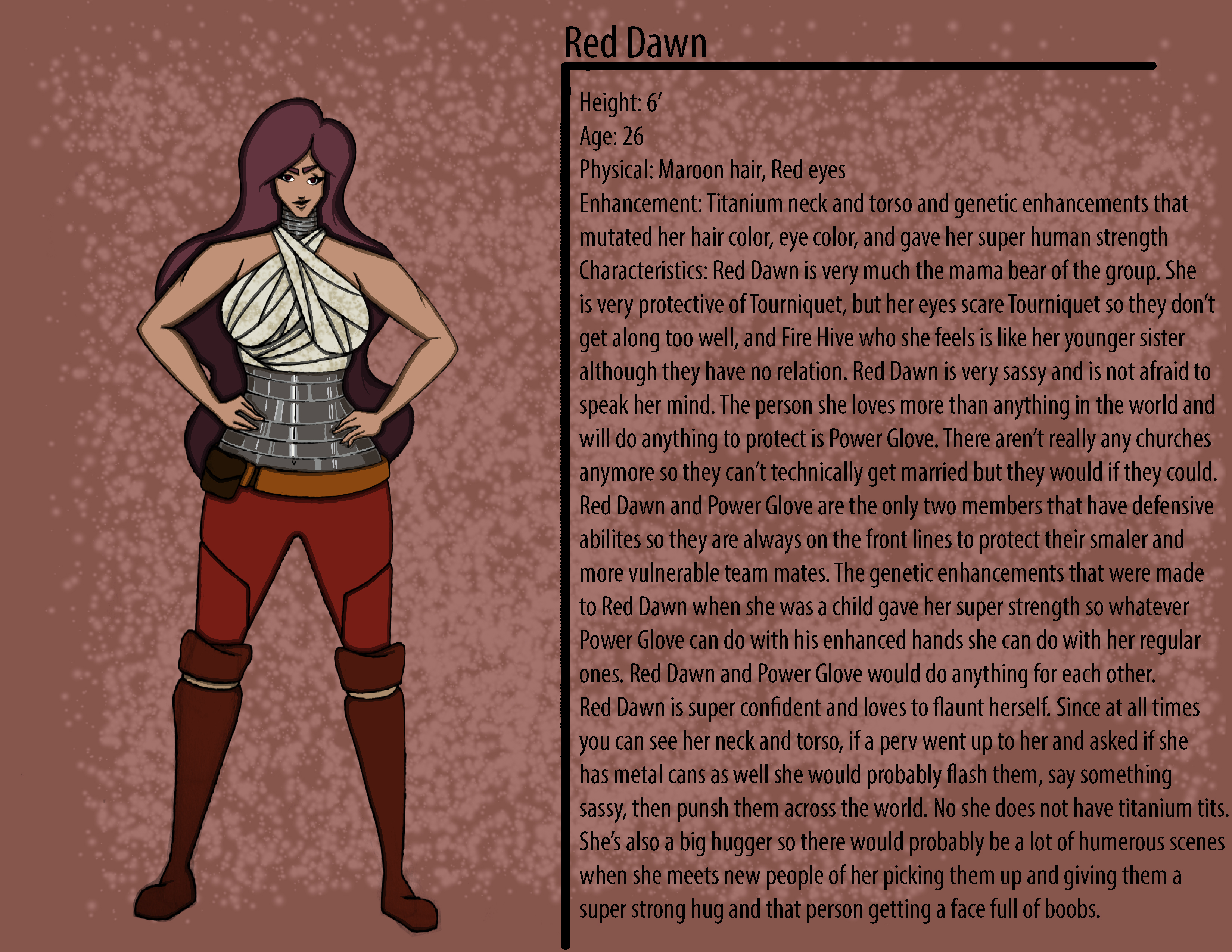 Red Dawn Character Description