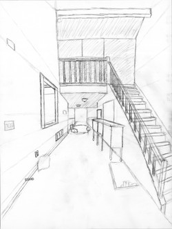 One Point Perspective Study