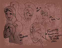 Fire Hive Expression Sheet